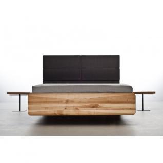 MAZZIVO Designerbett BOXSPRING Eiche Sale Bett 160x200cm Massivholz UVP 2249, 01 - Holzbett - Vorschau 1