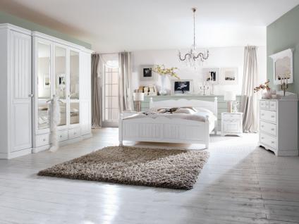 Schlafzimmer Komplett Weis Holz : IMS Living Cinderella Premium Schlafzimmer Kiefer teilmassiv Schrank ...
