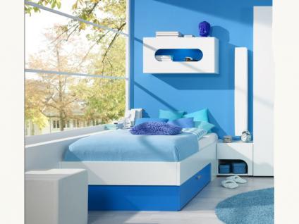 Rudolf Möbel Max-i Jugendzimmer Maxi Bett Liege mit Schubkasten Farbe PG2 und Größe Sonderlänge wählbar