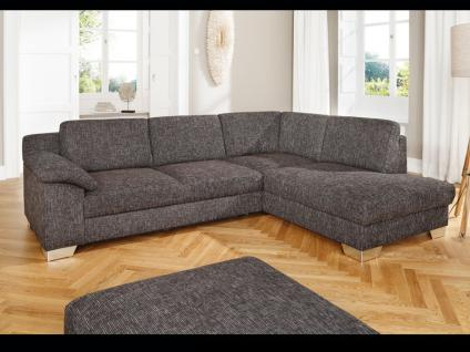stoff ecksofa couch sofa g nstig kaufen bei yatego. Black Bedroom Furniture Sets. Home Design Ideas
