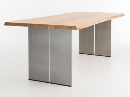 Bert Plantagie Edno Esstisch mit fester Platte für Esszimmer Tischplattenausführung Gestellausführung und Größe wählbar