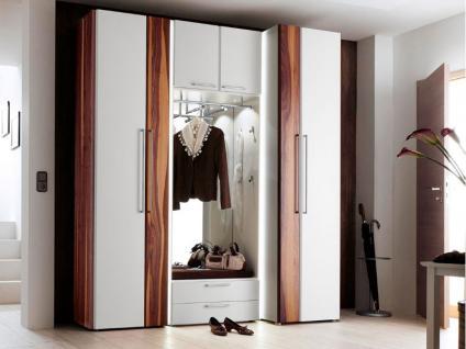 Garderob schrank fresh garderobenschrank dielenschrank for Garderobe nussbaum schwarz