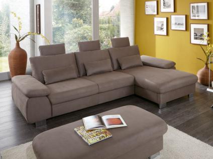 Couch schlaffunktion online bestellen bei yatego for Wohnlandschaft queenline