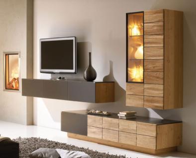 Wohnzimmer wohnwand anbauwand g nstig online kaufen yatego for Wohnwand voglauer