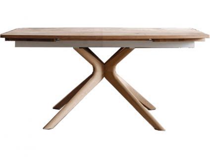 Voglauer V Alpin AG Esstisch Speisezimmertisch Eiche Altholz gerade V-Alpin Tisch in vier Größen und mit Ansteckplatten wählbar