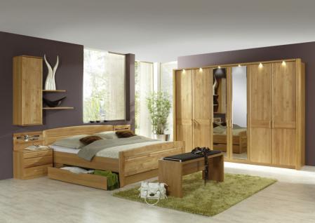 Schlafzimmer Komplett Teilmassiv günstig bei Yatego