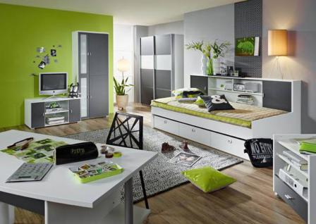 jugendzimmer mit schwebet renschrank online kaufen yatego. Black Bedroom Furniture Sets. Home Design Ideas