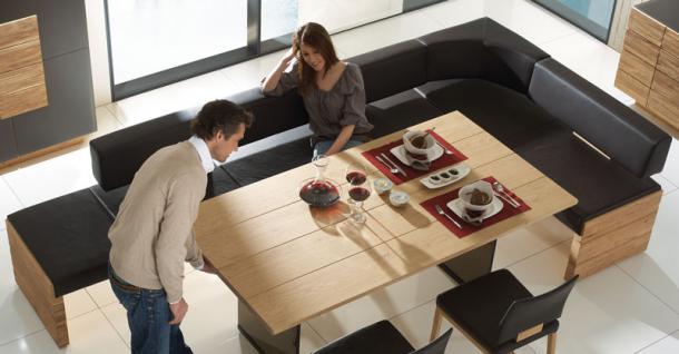 eckbank esszimmer schwarz g nstig kaufen bei yatego. Black Bedroom Furniture Sets. Home Design Ideas