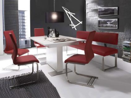 wei stuhl leder g nstig sicher kaufen bei yatego. Black Bedroom Furniture Sets. Home Design Ideas