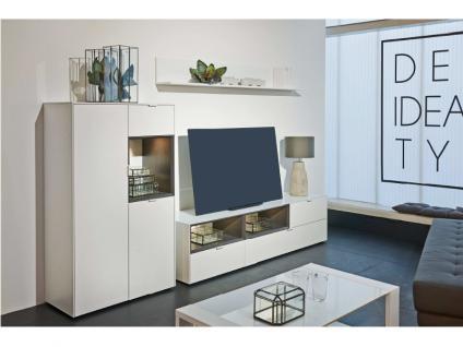 Wohnwand grau matt g nstig online kaufen bei yatego for Arte m wohnwand
