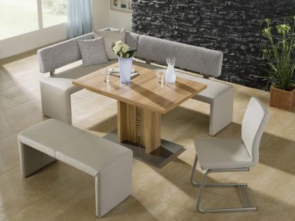 eckbankgruppe eiche natur g nstig kaufen bei yatego. Black Bedroom Furniture Sets. Home Design Ideas
