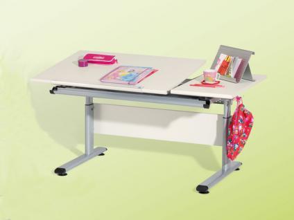 Paidi Marco 2 GT Schreibtisch Büffelland mit geteilter Arbeitsplatte Kinderschreibtisch Plattenausführung Kinderzimmer Ausführung wählbar
