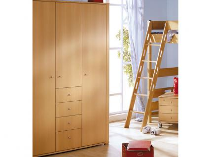 kleiderschrank buche 6 t rig g nstig online kaufen yatego. Black Bedroom Furniture Sets. Home Design Ideas