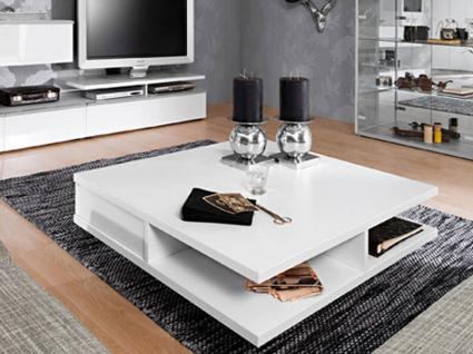 couchtisch weiss quadratisch g nstig online kaufen yatego. Black Bedroom Furniture Sets. Home Design Ideas