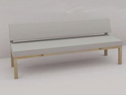 r ckenlehne f r sitzbank g nstig kaufen bei yatego. Black Bedroom Furniture Sets. Home Design Ideas