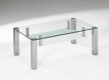 Glas Couchtische Edelstahl online kaufen bei Yatego