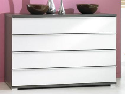 walnuss wei kommode online bestellen bei yatego. Black Bedroom Furniture Sets. Home Design Ideas