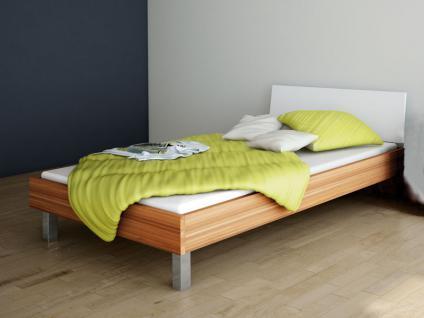 Wellemöbel Jugenzimmer Unlimited Bett Liege Kopfteil Reinweiß mit oder ohne Nachttisch Korpus wählbar