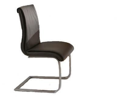 Niehoff Stuhl 6651 für Esszimmer Speisezimmer in Leder oder Kunstleder Ausführung wählbar