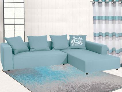 Tom Tailor Sitzgruppe Heaven Casual Colors Sofa Größe EXTRA LARGE Kollektion Casual Home, Abbildung zeigt Stoffgruppe 5 TBO Farbe 56 ice blue, Kissen sind sowohl einzeln als auch im Set gegen Aufpreis erhältlich