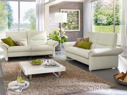 K+W Polstermöbel Polstergarnitur Primo 7210 Sofa 2-sitzig Element mit Seitenteil links Element mit Seitenteil rechts inklusive motorischer Relaxfunktion Bezug Füße wählbar