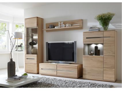 IDEAL Möbel Wohnwand Miro Kombination 09 Anbauwand 4 teilig