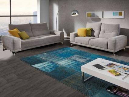 K+W Sky 7434 Polstergarnitur KW Möbel hochwertiges Sofa Couch Einzelsofa für Ihr Wohnzimmer in Leder oder Stoff wählbar