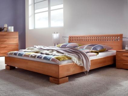 Hasena Wood-Line Premium 18 Tida Bettrahmen Massivholz in Buche Farben oder Kernesche wählbar