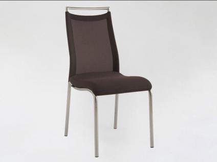 Venjakob GO ON Natalie Typ 0487 ohne Armlehnen Stuhl Esszimmer Sessel Bezug Tritex Stoff oder Leder wählbar
