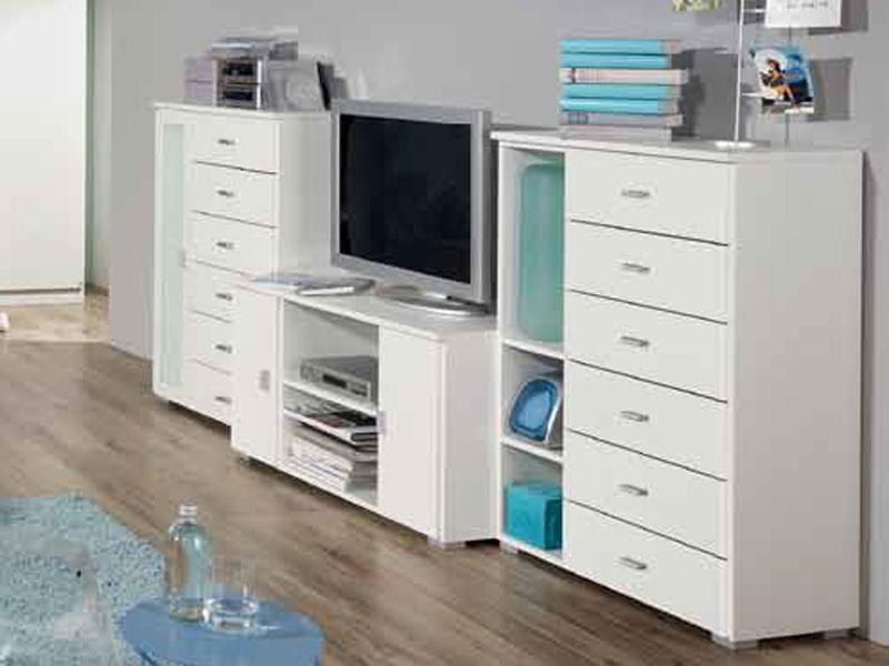 jugendzimmer wohnwand chica interessante. Black Bedroom Furniture Sets. Home Design Ideas