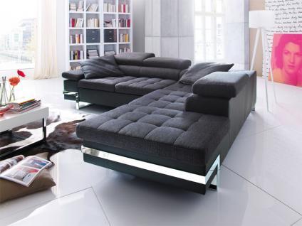 ottomane leder g nstig sicher kaufen bei yatego. Black Bedroom Furniture Sets. Home Design Ideas