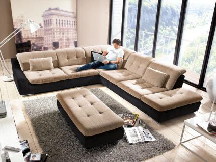 wohnlandschaft couch online bestellen bei yatego. Black Bedroom Furniture Sets. Home Design Ideas