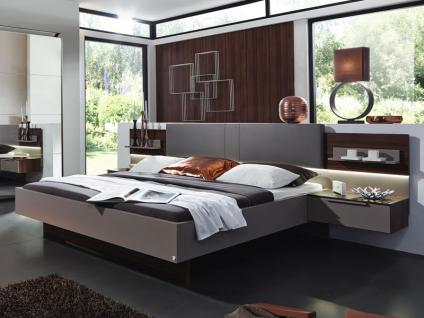 bett nussbaum schwarz online bestellen bei yatego. Black Bedroom Furniture Sets. Home Design Ideas