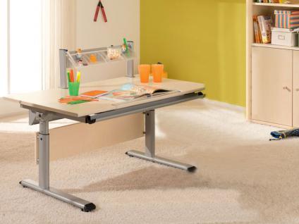 Schreibtisch birke massiv g nstig kaufen bei yatego for Computertisch birke