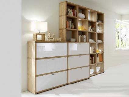 hausbibliothek regalwand im wohnzimmer. Black Bedroom Furniture Sets. Home Design Ideas