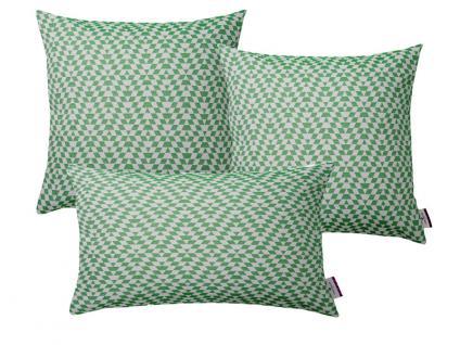 Tom Tailor Kissenhülle Freaky im grünen, trendigen Retrodesign, verschiedene Größen wählbar, gegen Mehrpreis auch mit Füllung erhältlich