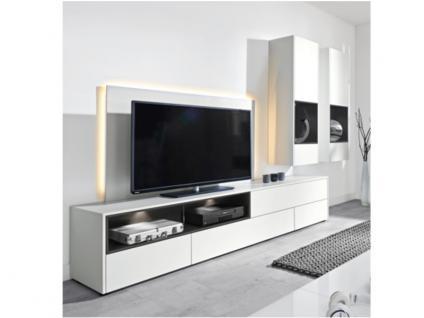 Tv paneel weiss g nstig sicher kaufen bei yatego - Arte m wohnwand ...