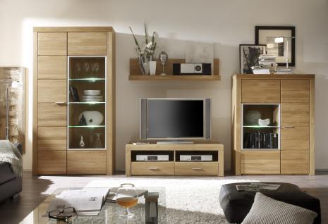 wohnzimmer wohnwand eiche g nstig kaufen bei yatego. Black Bedroom Furniture Sets. Home Design Ideas
