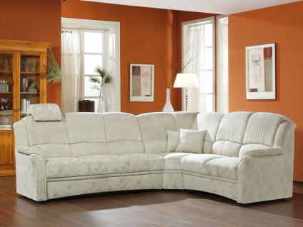 Polipol Wohnlandschaft In Feeling Ecksofa Sofa 3-Sitzer, Ecke mit 2x Relaxrücken und 2-Sitzer Couch spiegelverkehrt lieferbar Ausführung wählbar