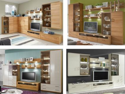 IDEAL-Möbel Wohnwand Preno Stapel-Anbauprogramm in verschiedenen Ausführungen für Wohnzimmer wählbar