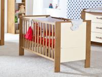 Paidi Henrik Babyzimmer Babybett Kinderbett in Eiche-Antik-NB Absetzung Beige oder Braun