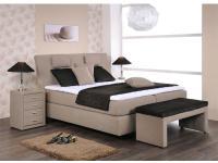 Oschmann Boxspringbett Royal 4 **** Sterne für Schlafzimmer Bett in Größe Füsse Kopfteil und Stoffgruppe wählbar