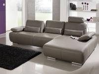 Sofa Garnitur Miami K+W 7487 KW Möbel Eck Couch Wohnlandschaft Größe und Stoff wählbar
