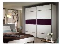Packs Rauch Cretone Color Schlafzimmer Kleiderschrank Schwebetürenschrank Ausführung wählbar