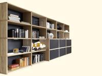 Venjakob Wohnwand Anna NA08 Regalwand Regal Sideboard Kombination für Wohnzimmer Esszimmer