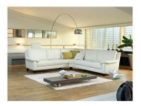 Schillig Willi Ecksofa Matrixx 21074 Liva Sofa 3 Sitzer+Rundecke klein+Sofa 3 Sitzer für Ihr Wohnzimmer in Stoff oder Leder