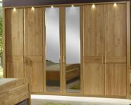 Wiemann Lausanne Drehtürenschrank Schlafzimmer Kleiderschrank in Erle oder Birke teilmassiv in allen Größen