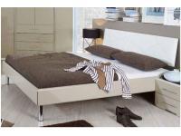 Rauch Select Gala Plus Bettenystem Einzelbett Futonbett Liege Hochglanz Aluspangen Kopfteil Lederoptik gesteppt Größe und Ausführung wählbar