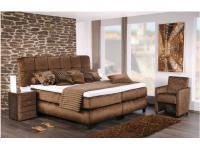 Oschmann Boxspringbett Imperial für Schlafzimmer Bett mit 70cm Liegehöhe in Größe und Stoffgruppe wählbar