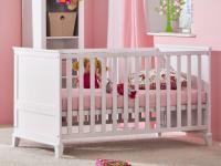 Paidi Sophia Kinderbett Schlupfsprossen Federleistenrost höhenverstellbar zum Kindersofa oder Juniorbett umbaubar